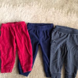 Pants trio 12 months baby boy 👶🏻